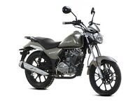 Lexmoto Oregon 125cc Learner Legal Motorcycle - 2 Year Parts Warranty - Finance Available