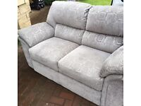 Sterling furniture Sofa 3, 2, seater & foot stool must be seen suite