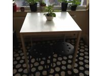 Table and carpet