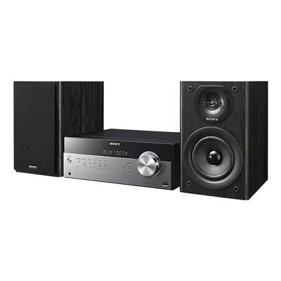 Sony CMTSBT100B Home Audio-System NFC Bluetooth Drahtlos CD-Player USB schwarz