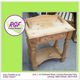 SALE NOW ON!! Pine Side Table With 1 Drawer - Can Deliver For £19