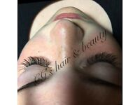 Gorgeous individual eyelashes at GG's salon, Mutley Plain, Plymouth