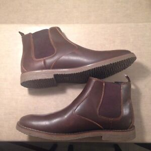 NEW IZOD MENS CORY CHELSEA BOOTS SIZE 12