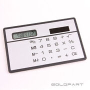 Solar Pocket Calculator