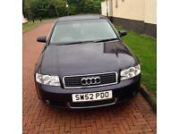 Audi A4 52 plate , great runner , years Mot.