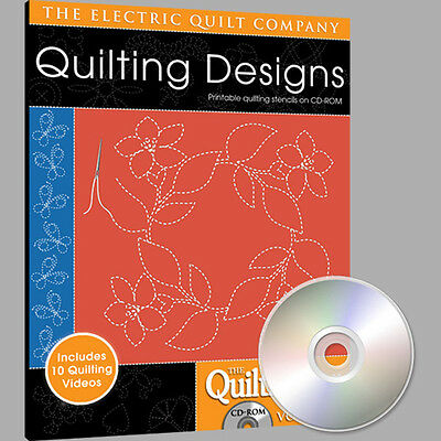 QUILTMAKER QUILTING DESIGNS Volume 6 Software NEW CD Quiltmaker Quilting Designs