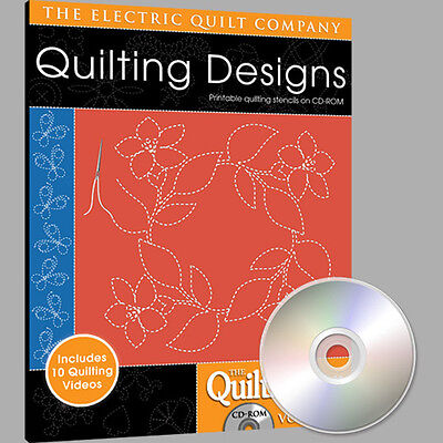 Electric Quilt Quiltmaker Quilting Designs Volume 6 Softw...