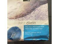 Brand new foot bath
