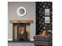 Stove multi fuel wood burning 6kw stove NEW