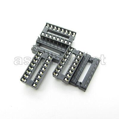 10 X Dip 16 Pin Ic Sockets Adaptor Pcb Solder Type Socket 2.54mm 0.1 Pitch