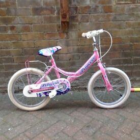 Girls Princess bike for sale