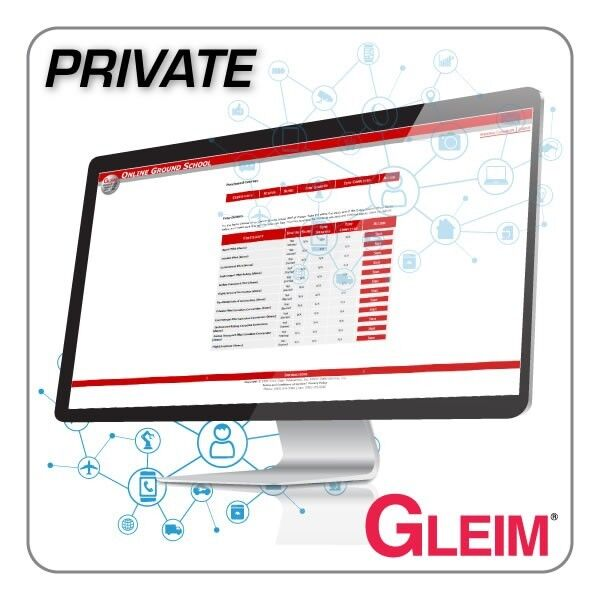 New Gleim Private Pilot Online Ground School Training Course