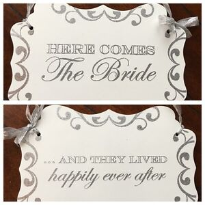 Here Comes The Bride/ Happily Ever After Sign