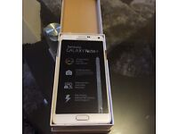 SAMSUNG GALAXY NOTE 4 BRAND NEW BARGAIN IN WHITE COLOUR