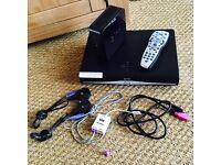 Sky+HD box, WiFi hub, remote and all leads
