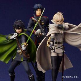 Looking for - Seraph of the End / Owari No Seraph anime statues: Mikaela, Yuichiro, Ferid, Guren