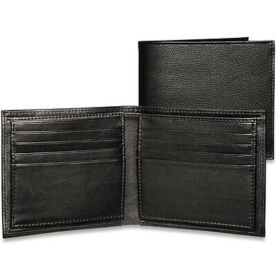Jack Georges Platinum Special Edition Mens Leather Bifold Hipster Wallet (Jack Georges Hipster Wallet)