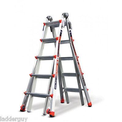 22 1A Revolution Little Giant Ladder 12022 w/ wheels