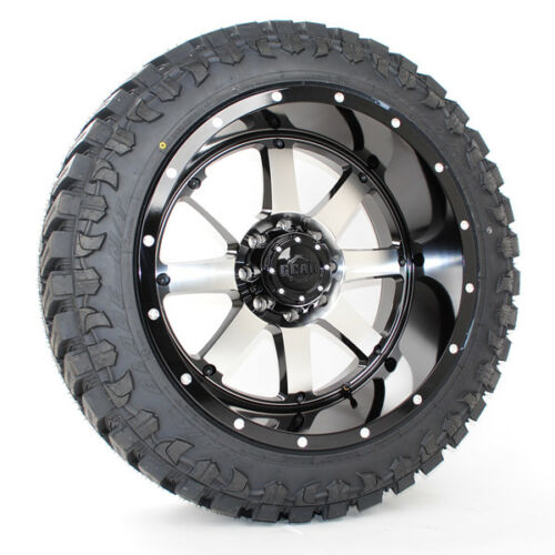 22x12 Gear Alloy 726m Atturo Trail Blade Mt 33x12.50r22 Wheels Tires
