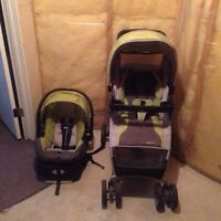 Evenflo stroller and seat combo