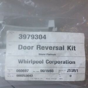 Whirlpool Door Reversal Kit Part #3979304