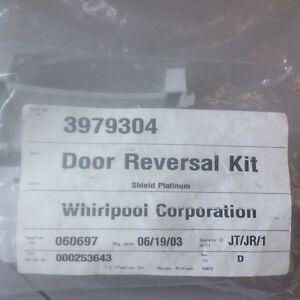 Whirlpool Door Reversal Kit Part #3979304