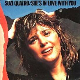 "Suzi Quatro - She's In Love With You / Vinyl, 7"", Picture Sleeve / 1979"