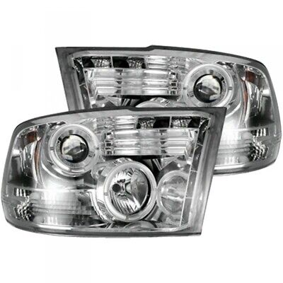 10-18 DODGE RAM 2500/3500 RECON CLEAR PROJECTOR HEADLIGHTS WITH CCFL HALOS. ()