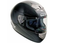 Box Motorbike Helmet - Gloss Black