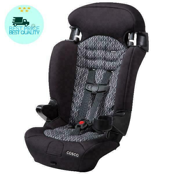 Cosco Finale 2-in-1 Booster Car Seat, Braided Twine