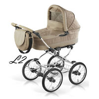 "BALLERINA  LEATHER & ECO ""CLASSIC STYLE"". ONLY IN EUROSTROLLER!"