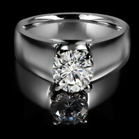 Dazzling diamond engagement ring 1.35CT Bague de fiançailles