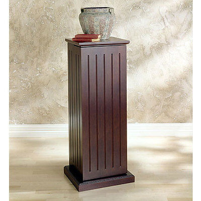 Media Storage Pedestal Dvd-CD Gaming Cabinet  Furniture Cherry Finish New