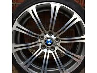 ORIGINAL BMW M3 ALLOY WHEELS 19""