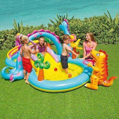 Intex Dinoland Play Centre For Children Outdoor FUN Swimming pool Hot Summer Fun