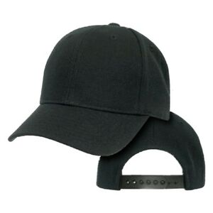 blank black baseball hat - photo #5