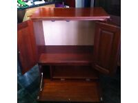 Large tv unit cupboard