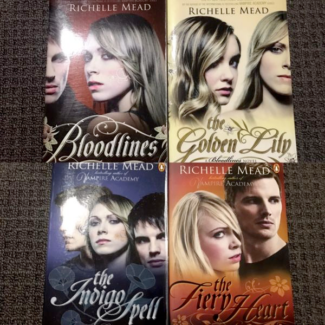 The Bloodlines Series by Richelle Mead Books 1-4 Paperback