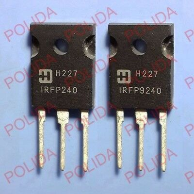1pairs Power Mosfet Transistor Harris To-247 Irfp240irfp9240