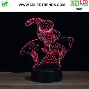 3D LED Night Light Illusion with ABS Base *7 changing colors* Kitchener / Waterloo Kitchener Area image 4