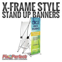 ★Cheap X-Frame Banner Stand with Printing ✂$5 OFF COUPON