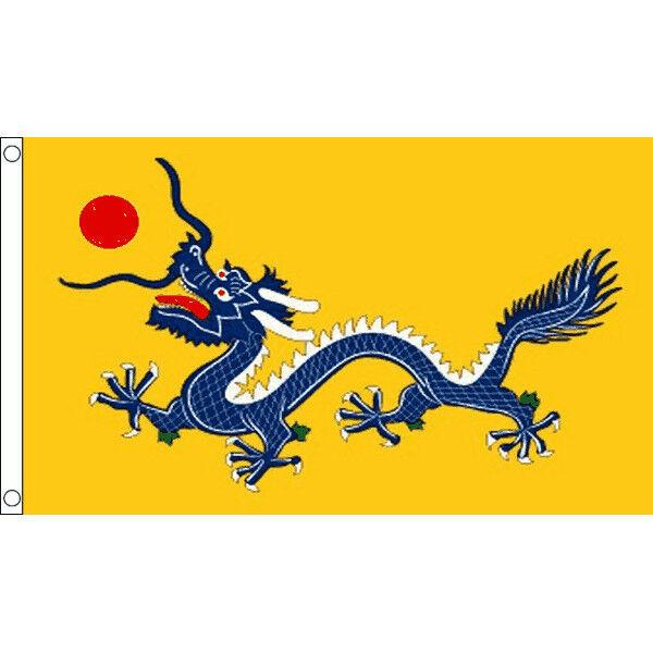 Chinese Dragon Flag Large 5 x 3