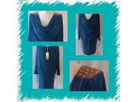 Luminescent women's blue jumper size 12/14