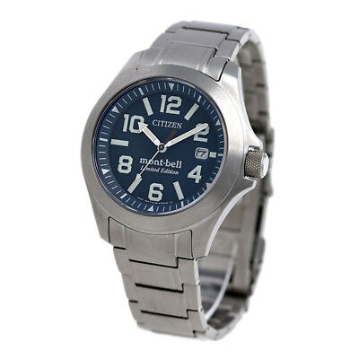 Eco Bells (Citizen BN0121-51L PROMASTER Eco-Drive mont-bell Limited Edision From Japan New )