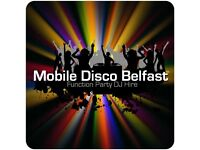 Hire a DJ - Mobile Disco Belfast - Party Entertainment