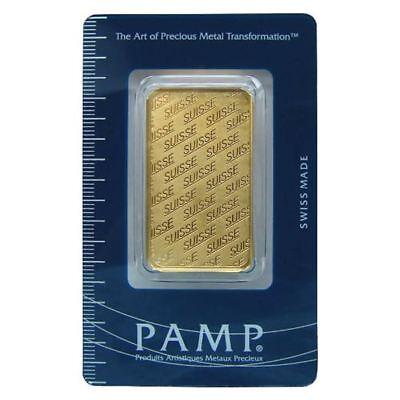 1 oz Gold Pamp Suisse Gold Bar | Sealed in Assay