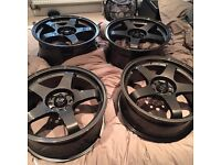 ROTA GTRs (genuine) 17 inch bought from ROTA 3 months old 4x100