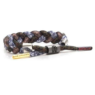 Brand New RASTACLAT Camo What a Clat Shoelace Bracelet