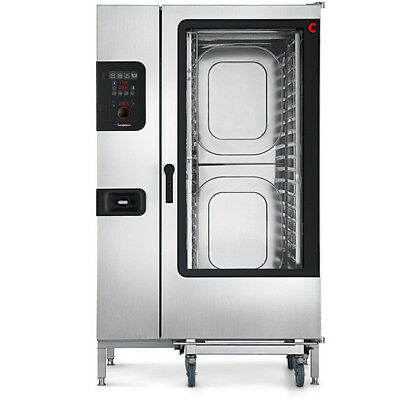 Convotherm C4ED20.20EB Full Roll-In Electric Combi Oven with Easy Dial Controls