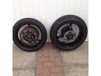Suzuki Gsxr 1000 k5 k6 wheels